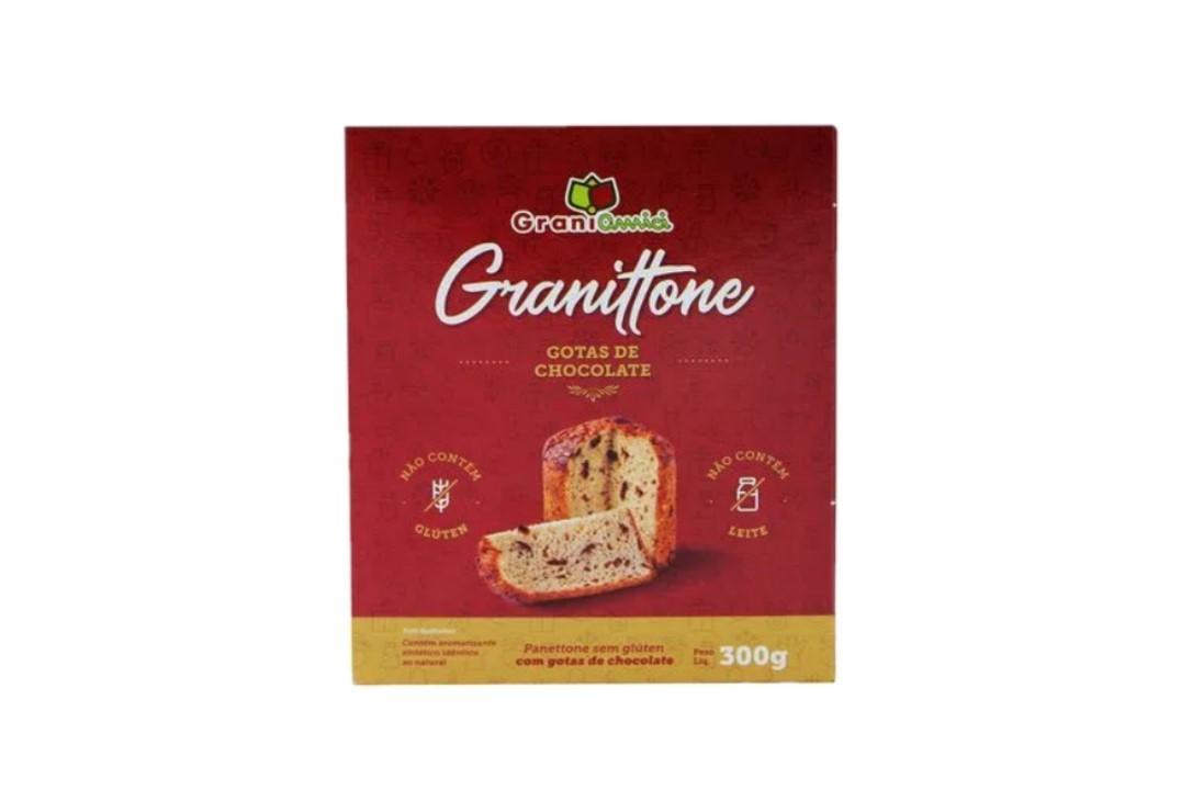 Chocottone sem glúten 300g - Grani Amici  - Mundo Cerealista