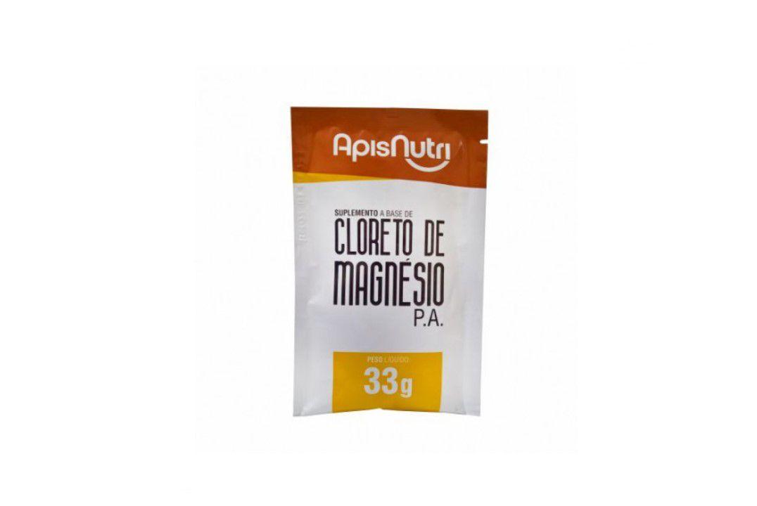 Cloreto De Magnésio  33Gr - Apisnutri  - Mundo Cerealista
