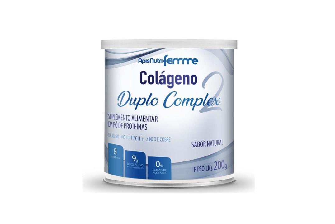 Colágeno Duplo Complex Natural - Apisnutri 200Gr  - Mundo Cerealista