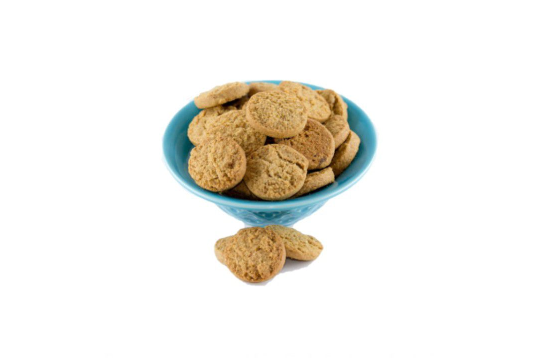 Cookies de Castanha De Caju Com Linhaça Dourada - Granel  - Mundo Cerealista