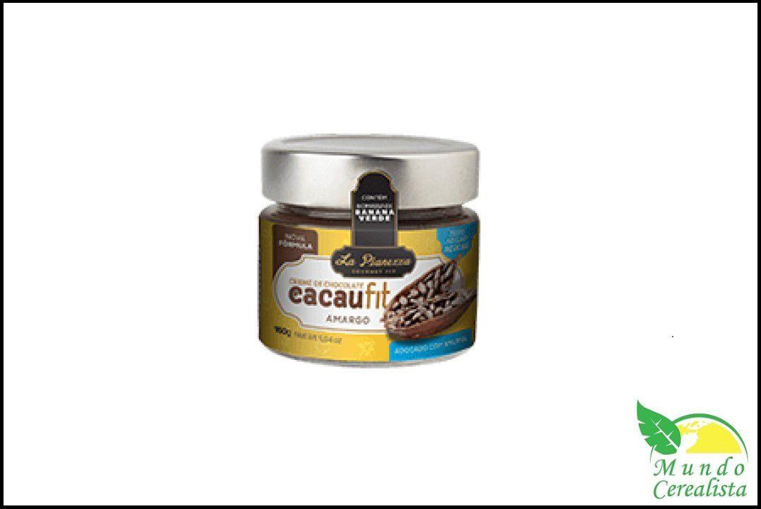 Creme de Chocolate Cacaufit Amargo La Pianezza - 160 Gr  - Mundo Cerealista