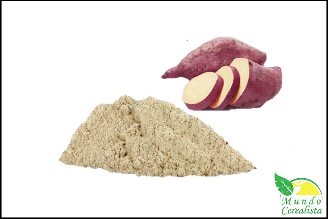 Farinha de Batata Doce - Granel  - Mundo Cerealista