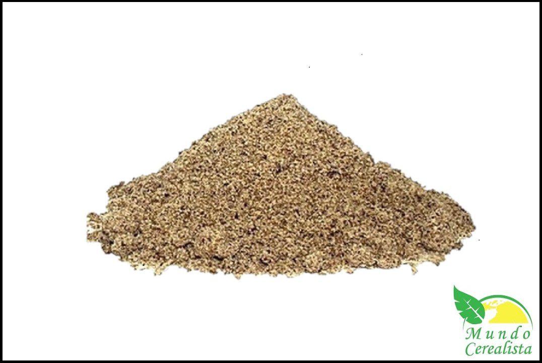 Farinha de Linhaça Marrom - Granel  - Mundo Cerealista