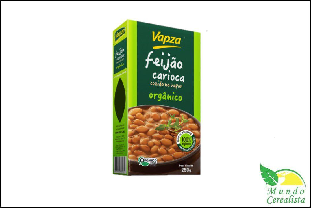 Feijão Carioca Orgânico 250Gr - Vapza  - Mundo Cerealista