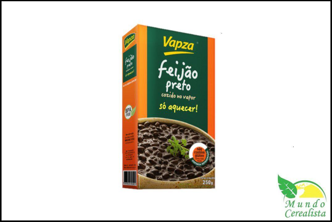 Feijão Preto 250Gr - Vapza  - Mundo Cerealista