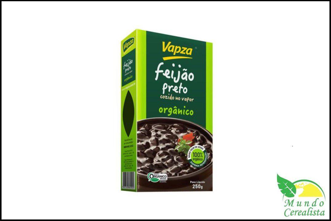 Feijão Preto Orgânico 250Gr - Vapza  - Mundo Cerealista
