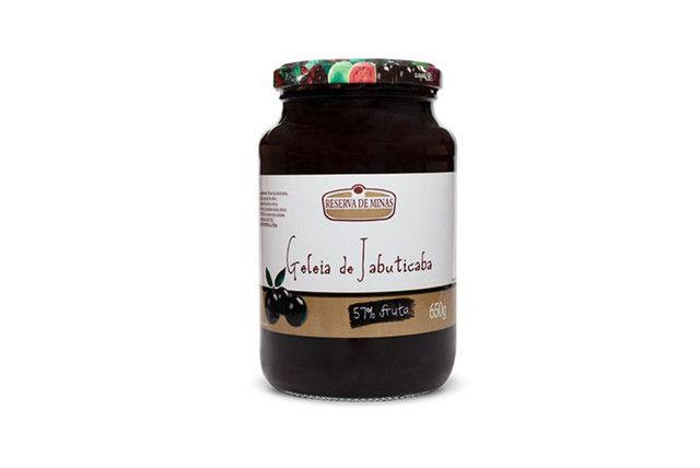 Geléia de Jabuticaba 650 Gr - Reserva de Minas  - Mundo Cerealista