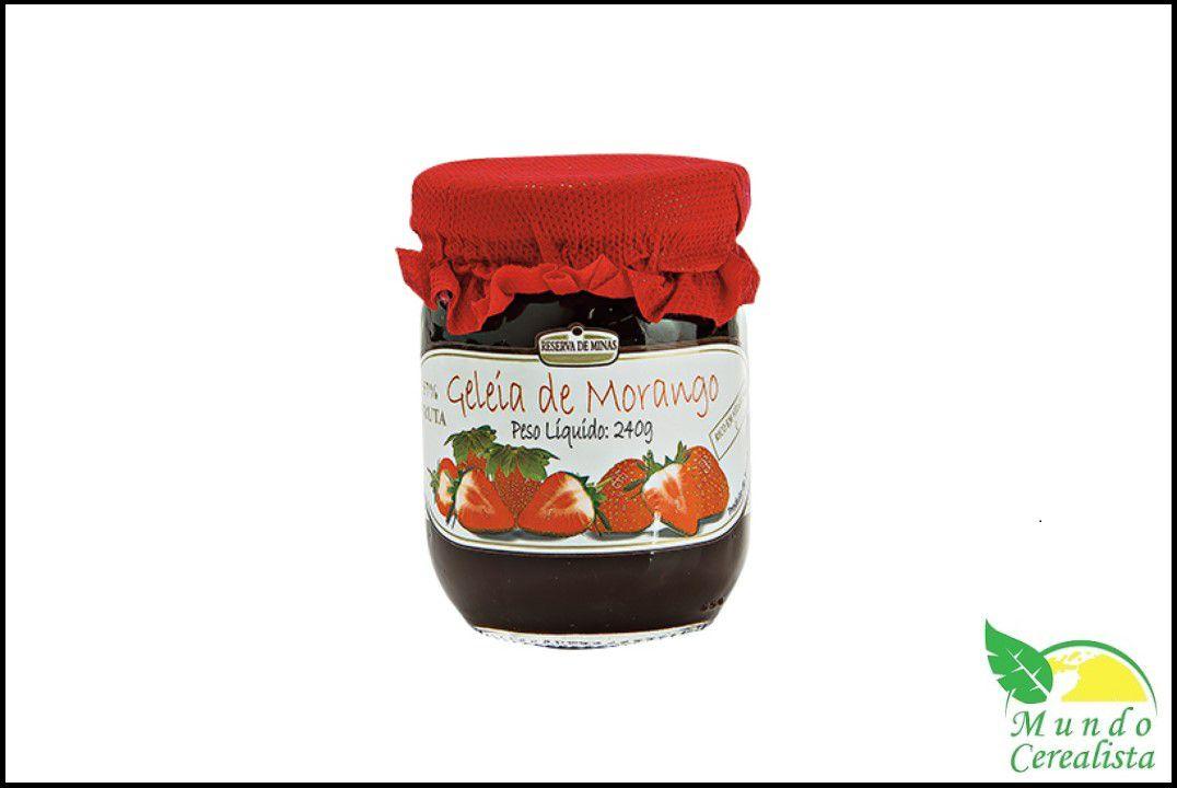 Geléia de Morango 240 Gr - Reserva de Minas  - Mundo Cerealista