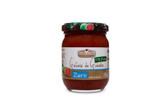 Geleia de Morango  diet 0 (zero) % açúcar - Reserva de Minas - 200 gr  - Mundo Cerealista