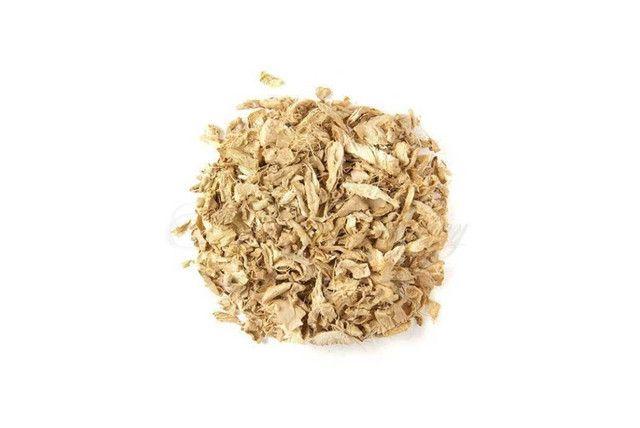 Gengibre em Lascas - Granel  - Mundo Cerealista