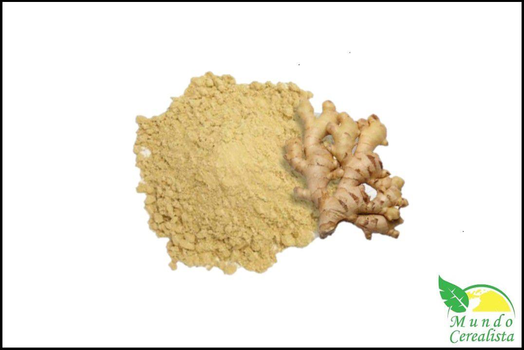 Gengibre Moído - Granel  - Mundo Cerealista
