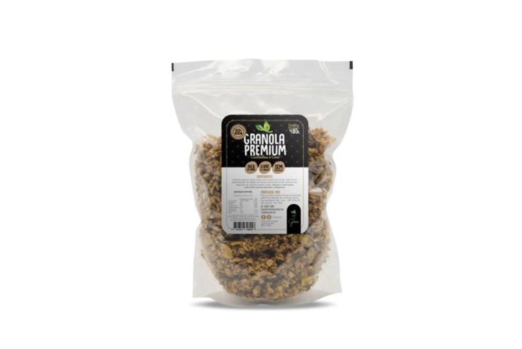 Granola com Castanhas e coco - Terra dos Grãos - 400 Gr  - Mundo Cerealista