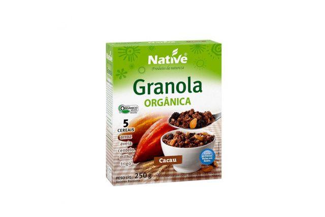 Granola Orgânica Com Cacau 250G - Native   - Mundo Cerealista