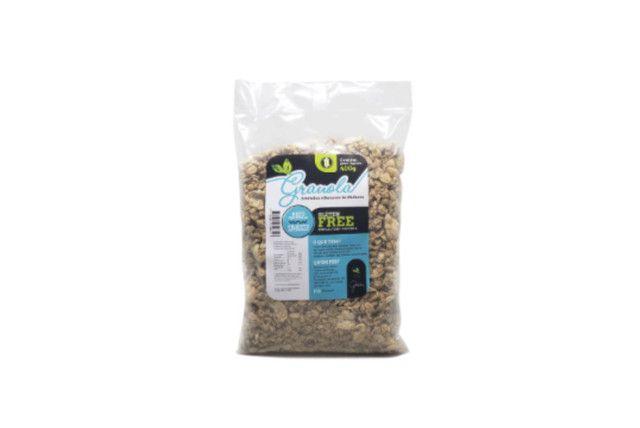 Granola SEM GLÚTEN com Amêndoas e Sementes de Abóbora - Terra dos Grãos - 400 Gr  - Mundo Cerealista