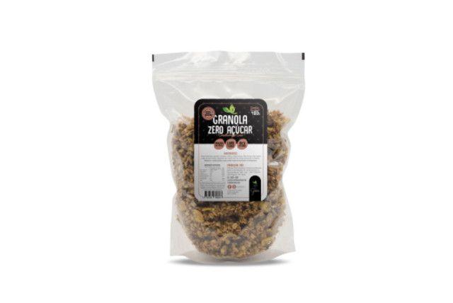 Granola Zero Açúcar com Cranberry e Coco - Terra dos Grãos - 400 Gr  - Mundo Cerealista