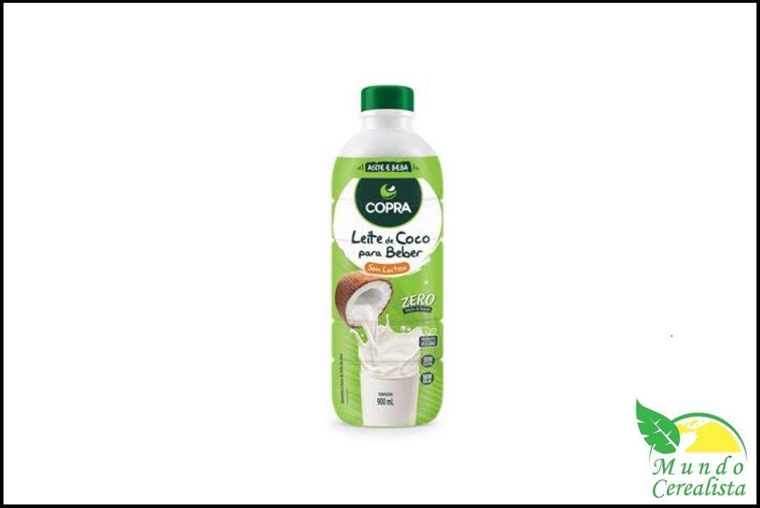 Leite de Coco Pronto para Beber Copra - 900 ml  - Mundo Cerealista