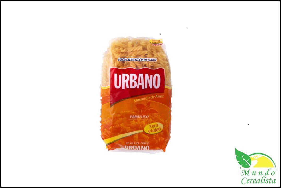 Macarrão de Arroz Parafuso urbano - 500 Gr  - Mundo Cerealista