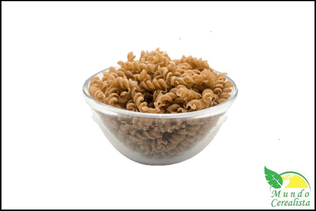 Macarrão  Espiral (Parafuso) Integral  Batata Doce - Granel  - Mundo Cerealista