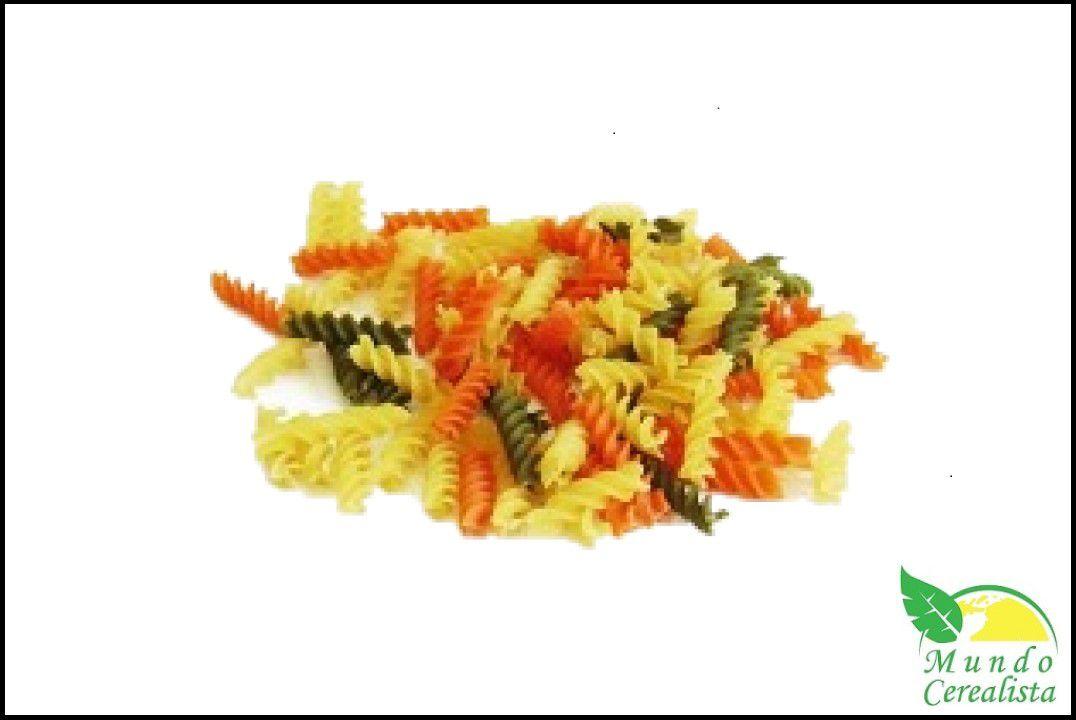 Macarrão Espiral Tricolor  - Granel  - Mundo Cerealista