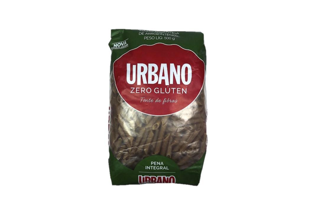 Macarrão Pena (Penne) de Arroz Integral Sem Glúten 500 Gr - Urbano  - Mundo Cerealista