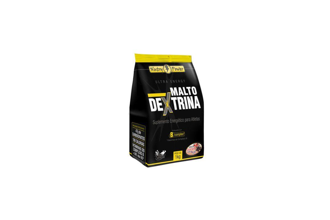 Maltodextrina Sabor Guaraná C/ Acai 1Kg Apisnutri  - Mundo Cerealista