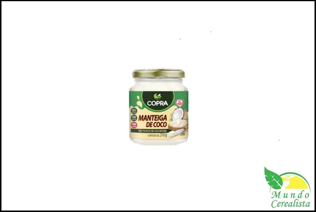 Manteiga de Côco Copra - 210 Gr  - Mundo Cerealista