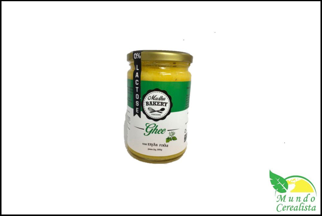 Manteiga Ghee Ervas Finas Bakery - 300 Gr  - Mundo Cerealista