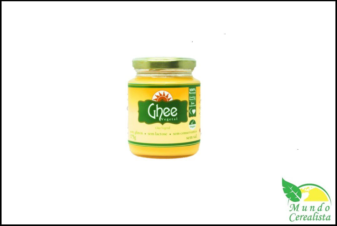 Manteiga Ghee Vegetal Airon - 175 Gr  - Mundo Cerealista