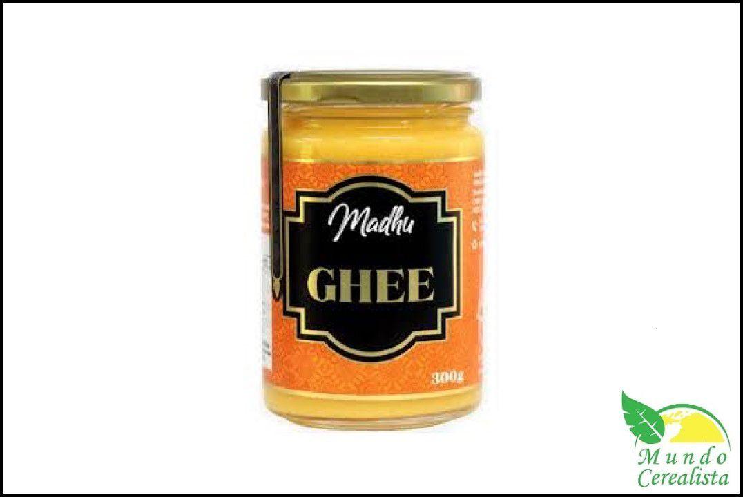 Manteiga Madhu Ghee - 300 Gr  - Mundo Cerealista