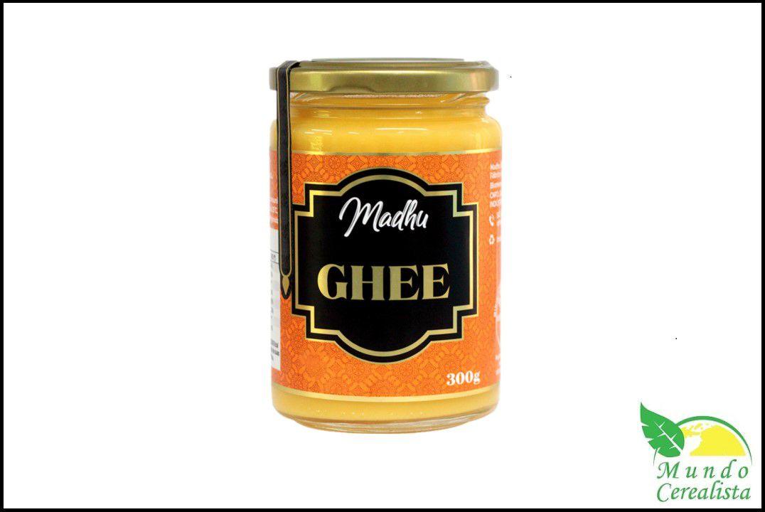 Manteiga Madhu Ghee  300G  - Mundo Cerealista