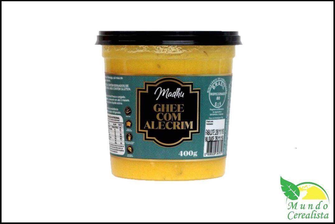 Manteiga Madhu Ghee  400G - Massala  - Mundo Cerealista