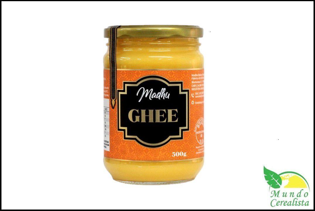 Manteiga Madhu Ghee - 500 Gr  - Mundo Cerealista