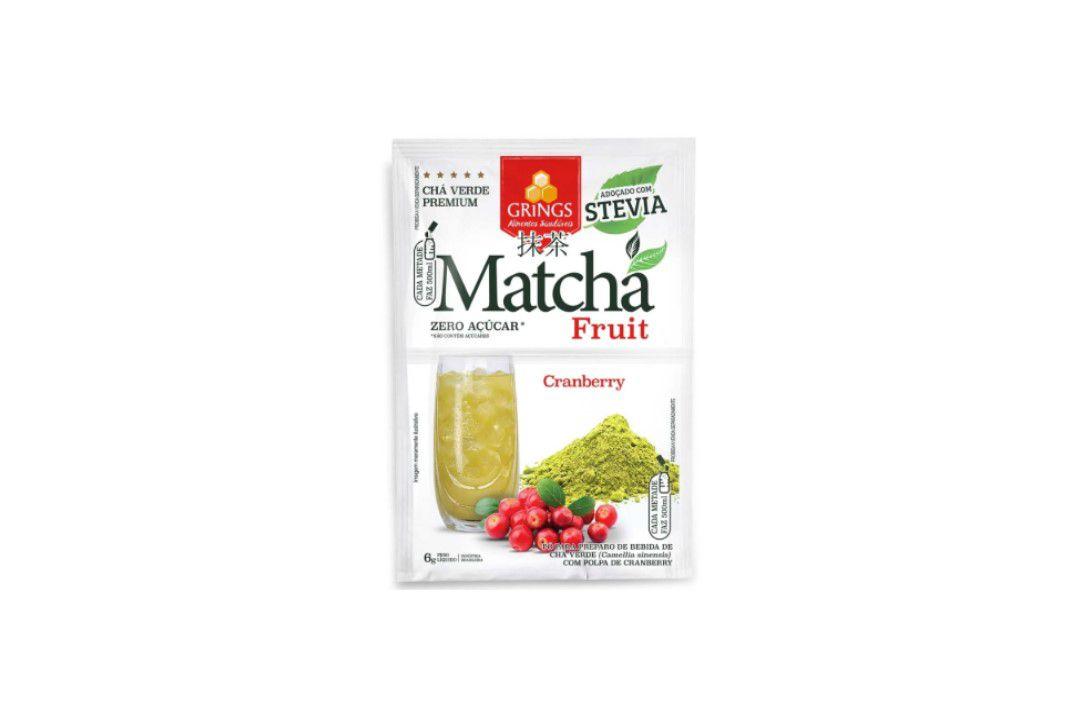 Matcha Fruit Cranberry 6 gr - Grings  - Mundo Cerealista