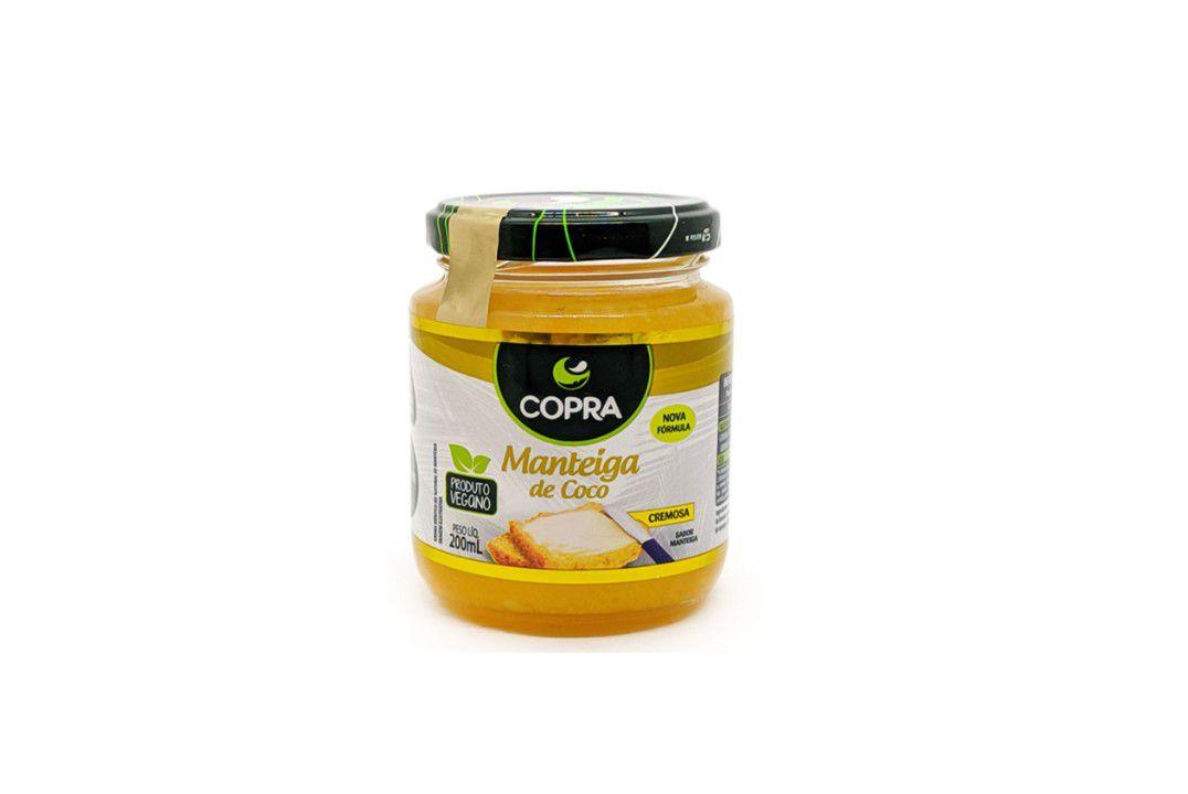 Mateiga de Coco Vegana - Copra - 200 Ml  - Mundo Cerealista