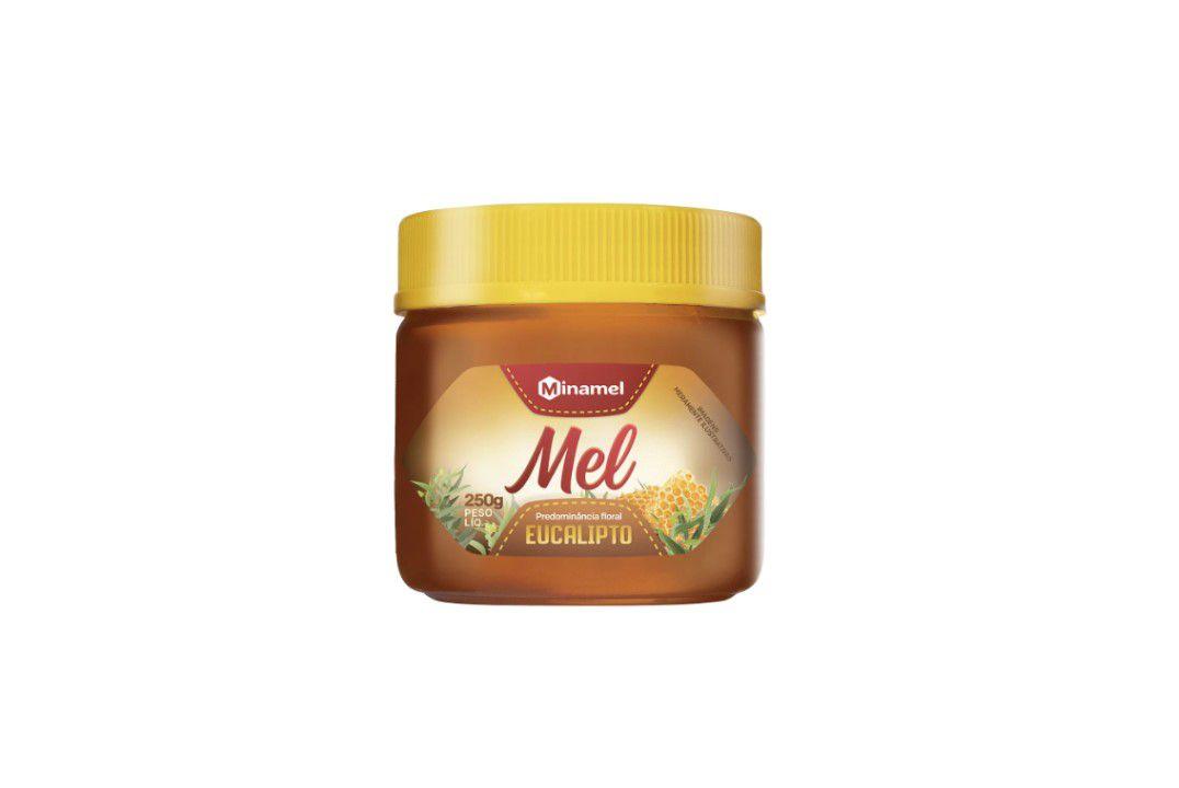 Mel Eucalipto Pote Pet 250G - Minamel  - Mundo Cerealista