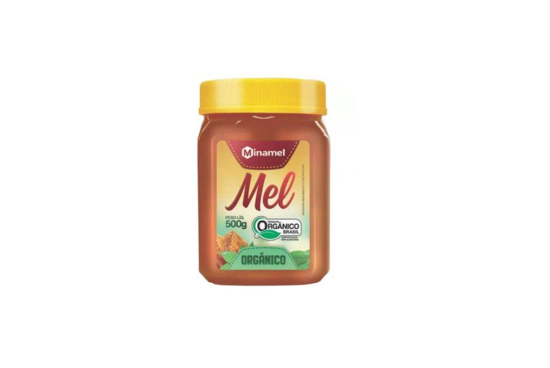 Mel Orgânico Minamel - 500 Gr  - Mundo Cerealista