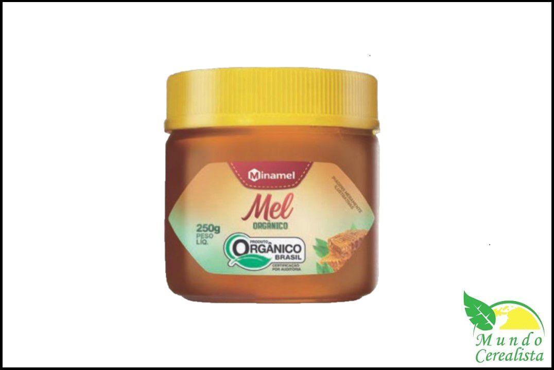 Mel Orgânico Pote Pet 250G - Minamel  - Mundo Cerealista