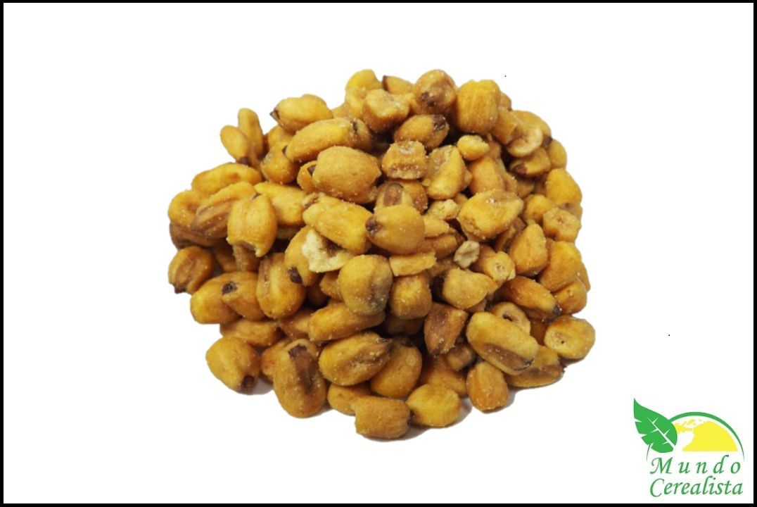 Milho Torrado Mostarda e Mel - Granel  - Mundo Cerealista