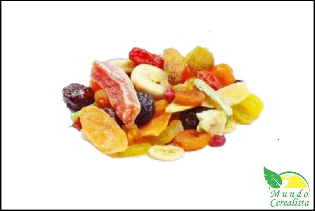 Mix de Frutas Desidratadas - Granel  - Mundo Cerealista