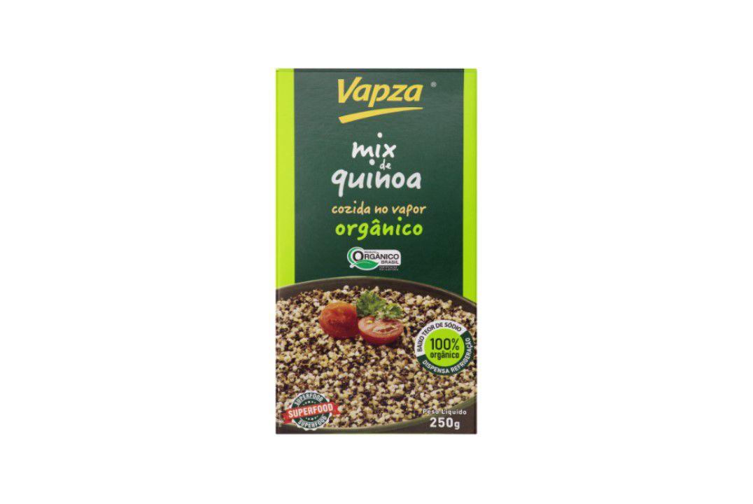 Mix De Quinoa Orgânica 250G - Vapza  - Mundo Cerealista