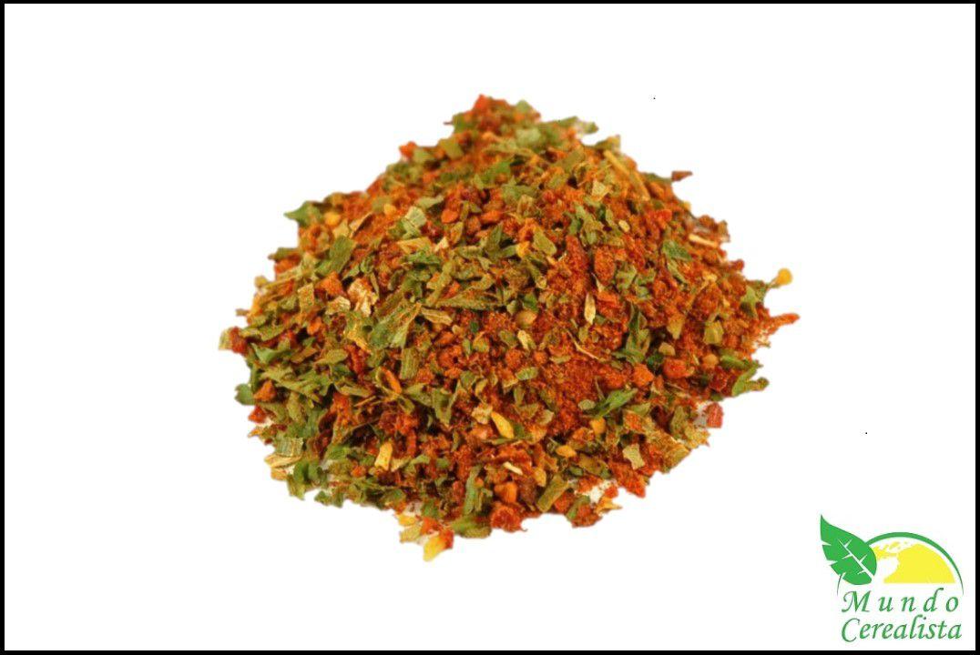 Mix de Temperos Chimichurri Com Pimenta - Granel  - Mundo Cerealista