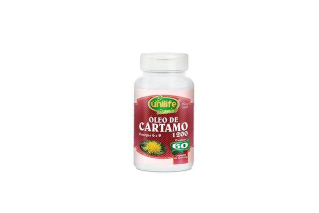 Óleo De Cartamo 1200 Mg 120 Cáps - Unilife  - Mundo Cerealista