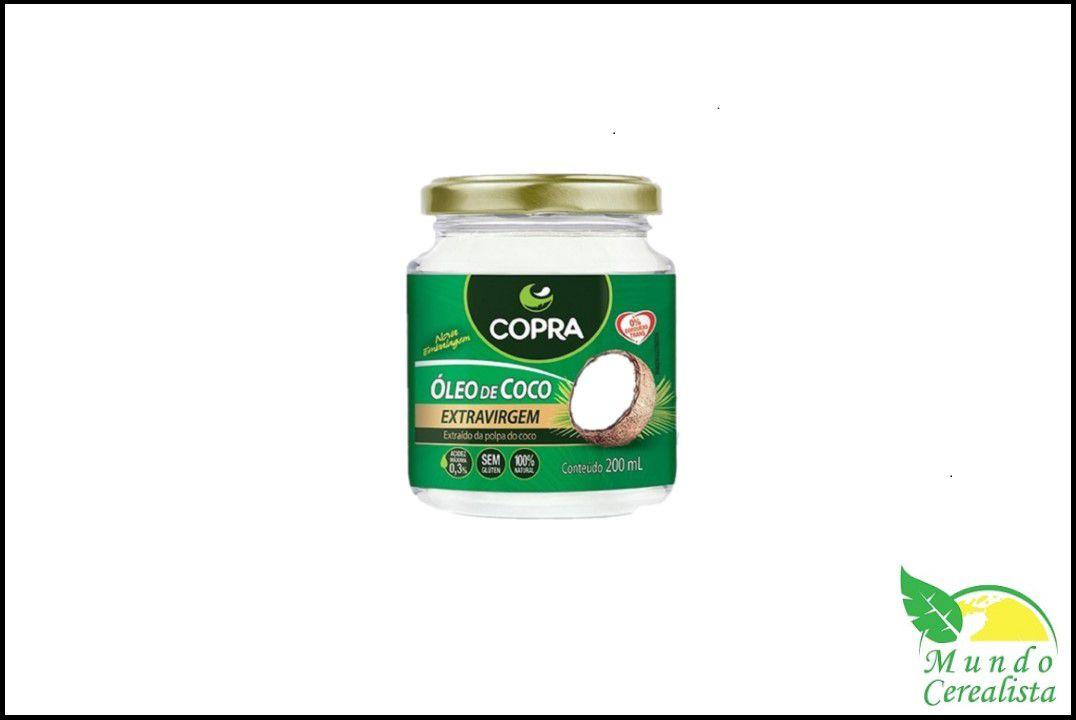 Óleo de Côco Copra Extra Virgem 200 ml  - Mundo Cerealista