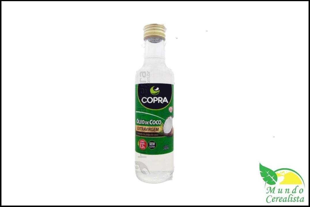 Óleo de Côco Extra Virgem Copra - 250 Ml  - Mundo Cerealista