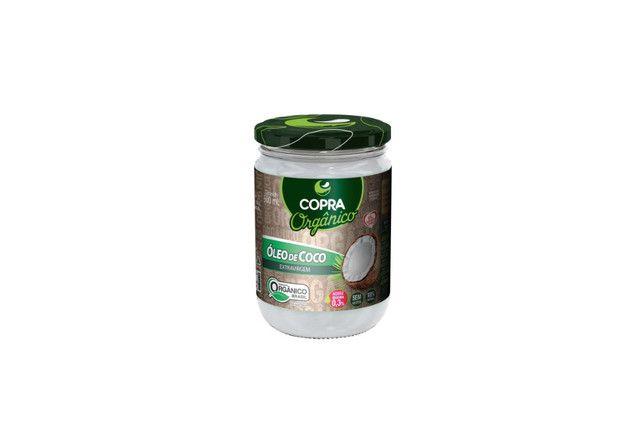 Óleo de Coco Extra Virgem Orgânico Copra - 500 Ml  - Mundo Cerealista