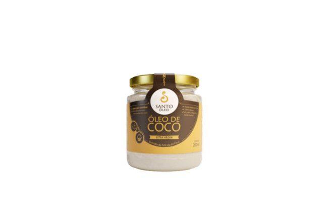 Óleo de Coco Extravirgem de Pelicula 200 ml - Santo Óleo  - Mundo Cerealista