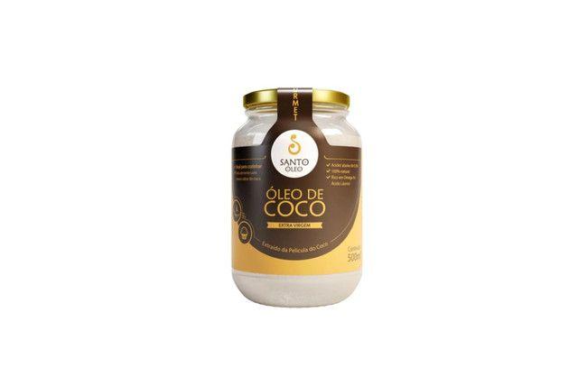 Óleo de Coco Extravirgem de Pelicula 500ml - Santo Óleo  - Mundo Cerealista