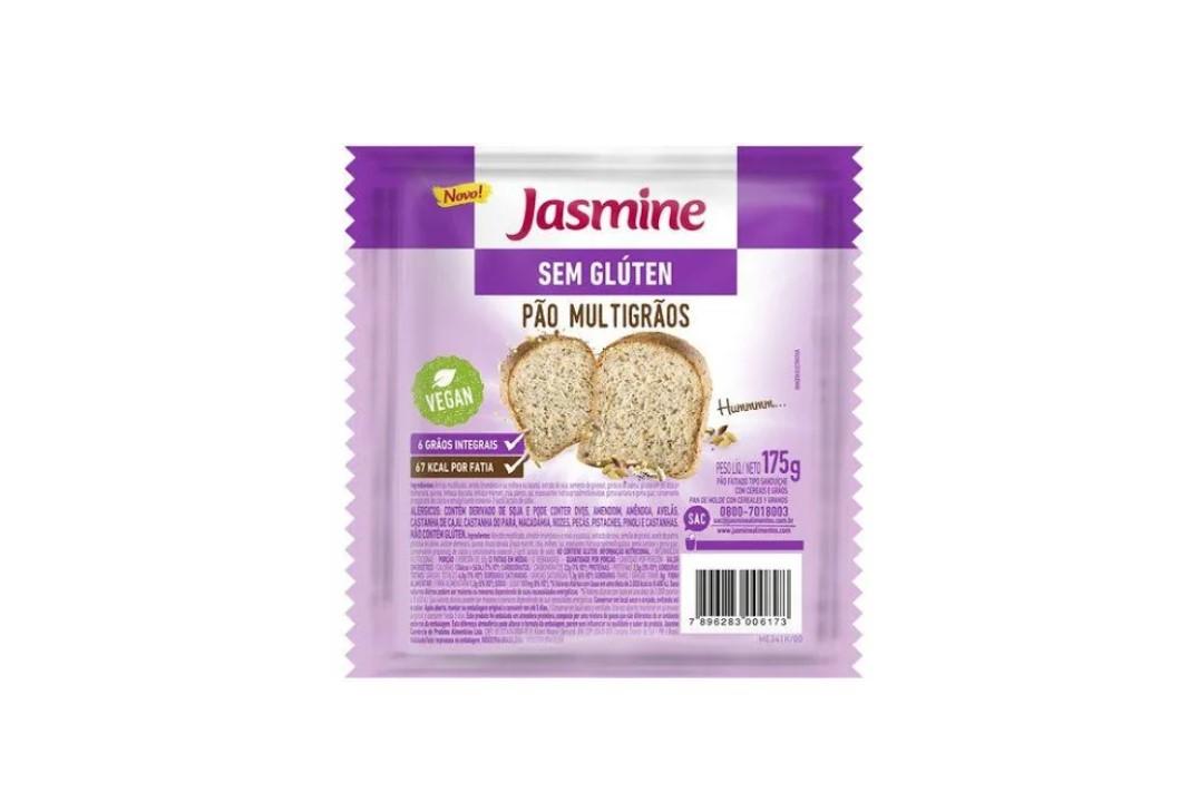 Pão Multigrãos 175G Sem Glúten - Jasmine  - Mundo Cerealista
