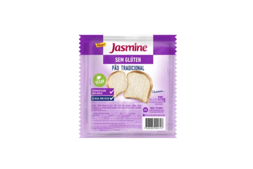Pão Tradicional 175G Sem Glúten - Jasmine  - Mundo Cerealista