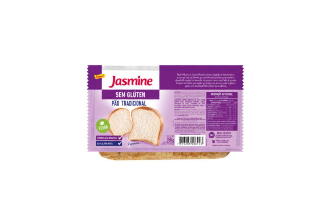 Pão Tradicional 350G Sem Glúten - Jasmine  - Mundo Cerealista